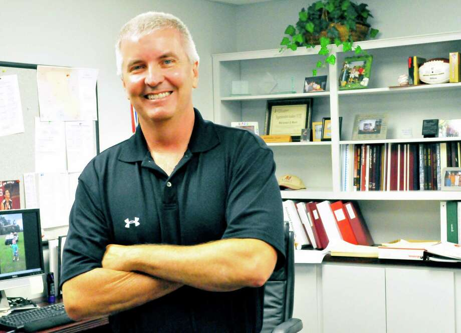 Richard Bain, who has been an educator for 25 years, was named Superintendent of the Year for Region 5. Photo: Cassie Smith