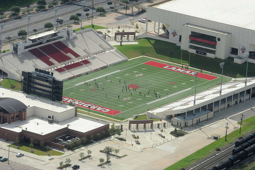 Lamar football field. Photo taken July 24, 2011 Guiseppe Barranco/The Enterprise