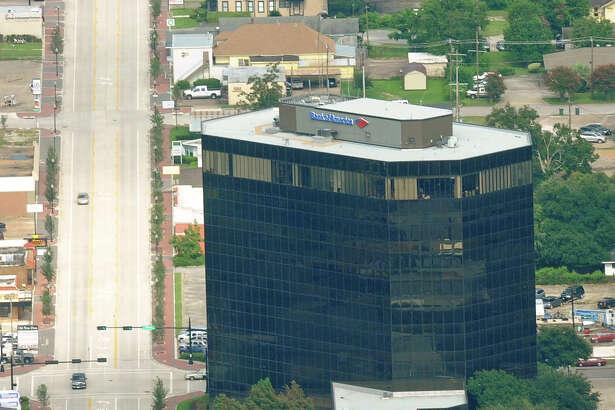 Bank of America on Calder Street. Photo taken July 24, 2011 Guiseppe Barranco/The Enterprise