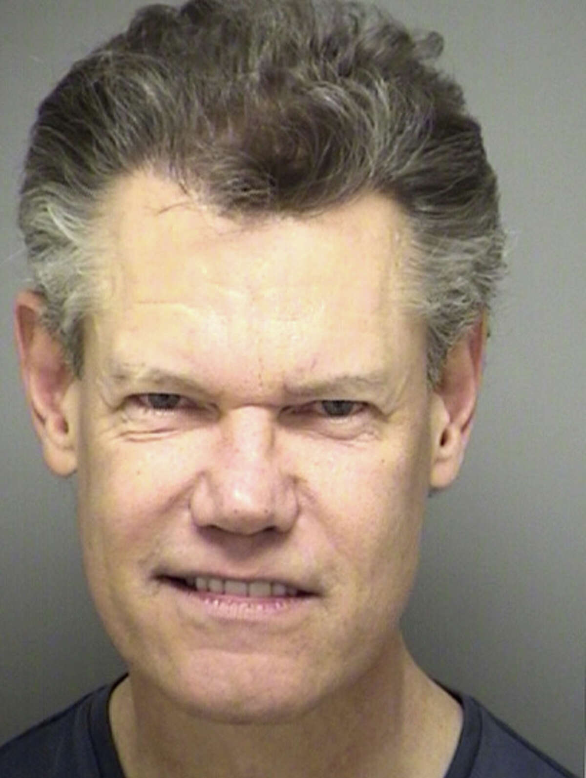 Randy Travis is seen in a booking photo in 2012 in Denton. Travis was arrested in Sanger on allegations of public intoxication, was cited and later released. (Denton County Sheriff's Office)