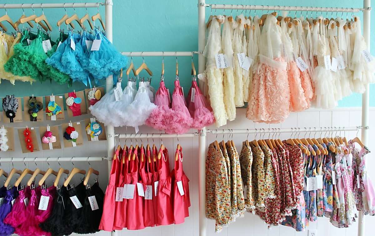 Sweet Charlotte and The Diaper Connection sells affordably priced attire for little girls.