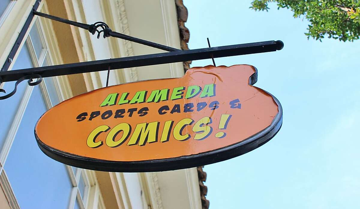 Alameda Sports cards and comics sells Oakland A s and S.F. Giants stuff, and quirky, pop culture toys.