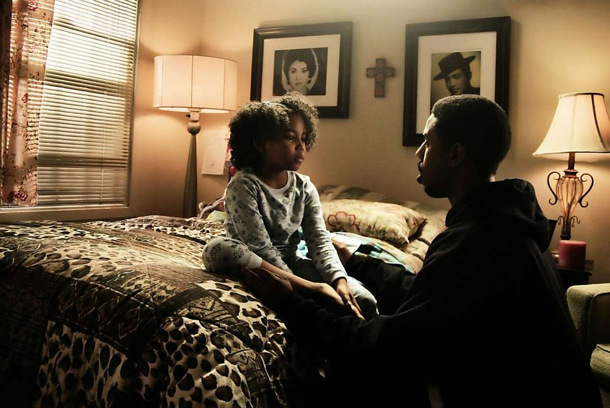 """This film publicity image released by The Weinstein Company shows Ariana Neal, left, and Michael B. Jordan in a scene from """"Fruitvale Station."""" (AP Photo/The Weinstein Company, Ron Koeberer)"""