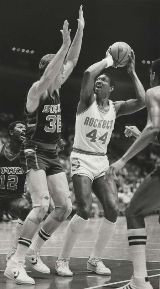 Elvin Hayes  The former UH standout was a 12-time NBA All-Star selection. Hayes was drafted as a San Diego Rocket, before the team relocated to Houston. Photo: File Photo, Houston Chronicle