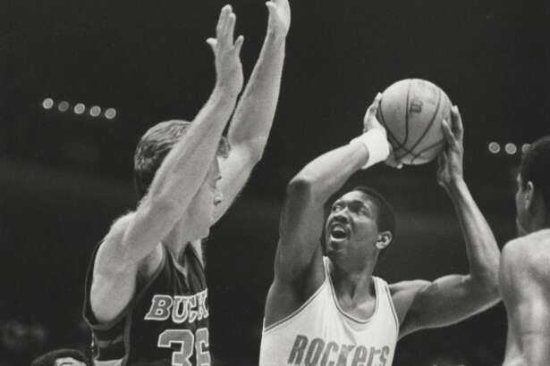 Elvin Hayes   The former UH standout was a 12-time NBA All-Star selection. Hayes was drafted as a San Diego Rocket, before the team relocated to Houston.