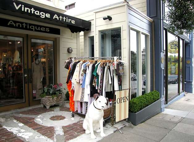 """San Francisco  Vintage a la Mode: Owner Springer Teich's boutique has a warm, friendly-ghost aura that's rare in antique dress shops. For flappers, Dickens Fair-goers and everyone in between, the feminine store is a gold mine of feathers, fur stoles and history. Customers """"love coming in here because it feels like a movie set,"""" Teich says. """"It's what I have to do in life - save these pieces."""" 3234 Sacramento St., (415) 440-1554. www.vintagealamode.com. Photo: Stephanie Wright Hession"""