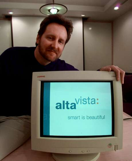 Back in 1999, Rod Schrock was Alta- Vista's chief executive. The search engine, introduced in 1995, was popular before Google passed it by. On Monday, Yahoo, which bought AltaVista in 2003, shut it down. Photo: PAUL SAKUMA, STF / AP