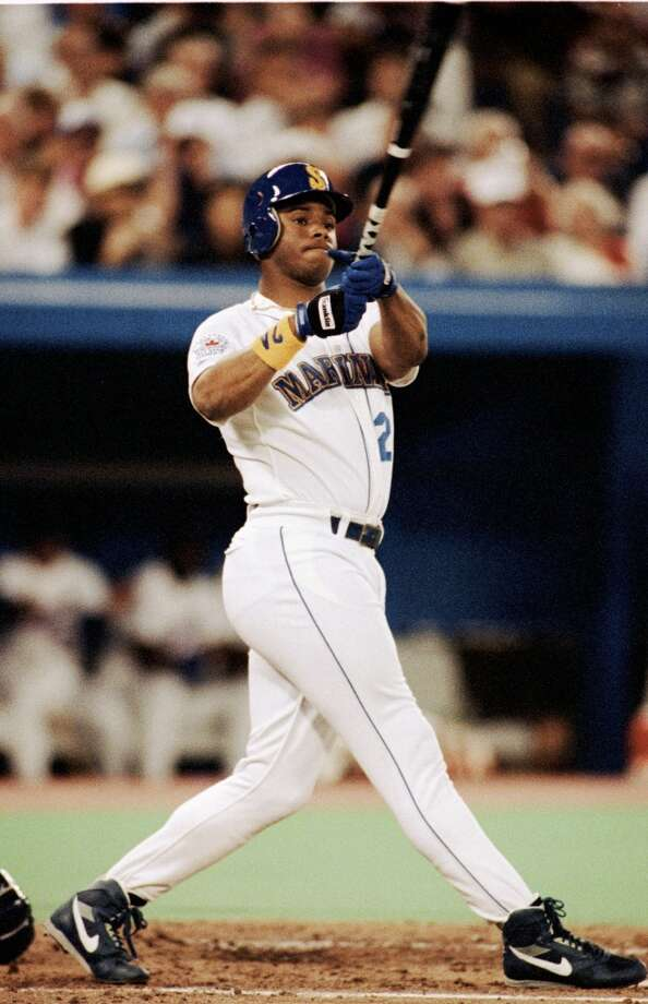 "1991 | Ken Griffey Jr. Location: SkyDome, Toronto | Result: AL 4, NL 2  ""The Kid"" was Seattle's only All-Star in '91, maybe because voters forgot about Johnson and Edgar Martinez. Nevertheless, Griffey earned his spot that year, batting .327 with 22 homers and 100 RBIs. Photo: Rick Stewart, Getty Images"