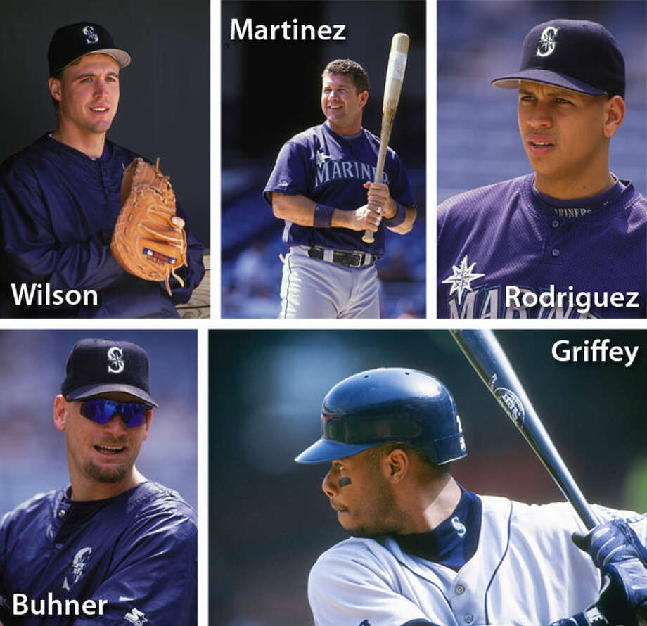 1996 | Jay Buhner, Ken Griffey Jr., Edgar Martinez, Alex Rodriguez, Dan Wilson