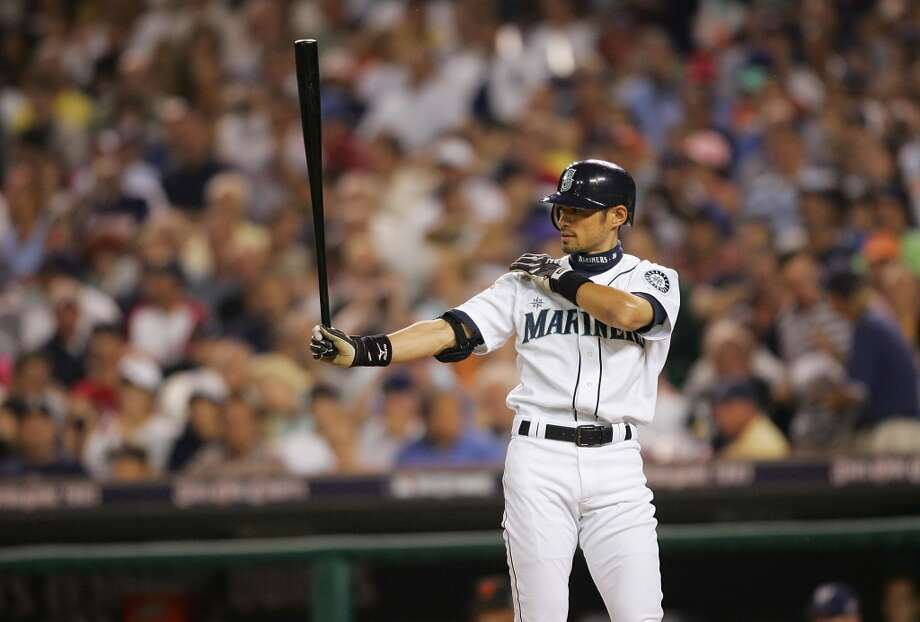 Ichiro Suzuki had 2,533 hits with the Mariners.  Photo: Elsa, Getty Images