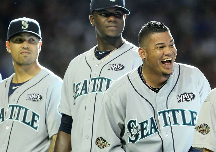 "2011 | Felix Hernandez, Brandon League, Michael Pineda Location: Chase Field, Phoenix | Result: NL 5, AL 1  Pitcher Michael Pineda (pictured at center) was just a rookie starter, but was immediately given a trip to the All-Star Game. Seattle closer Brandon League (left) also got the nod. ""King Felix,"" of course, continued his dominance on the mound. Photo: Jeff Gross, Getty Images"