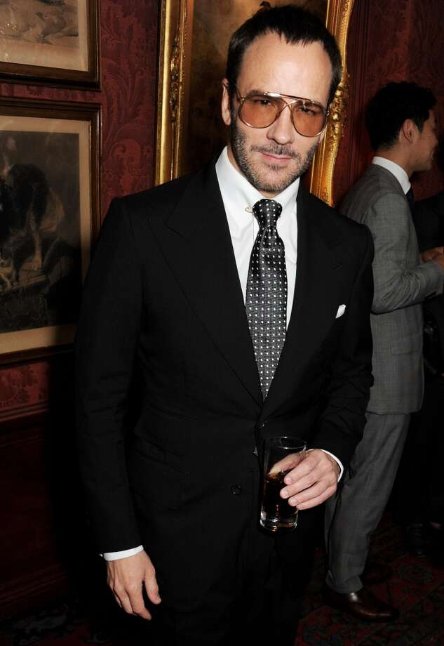 Tom Ford attends launch of his Mens Grooming Collection  at Mark's Club on June 18, 2013 in London, England. The designer has long sported that unshaven, fresh out of bed shabby cheek and is a scruff pioneer. Photo: Dave M. Benett, Getty Images