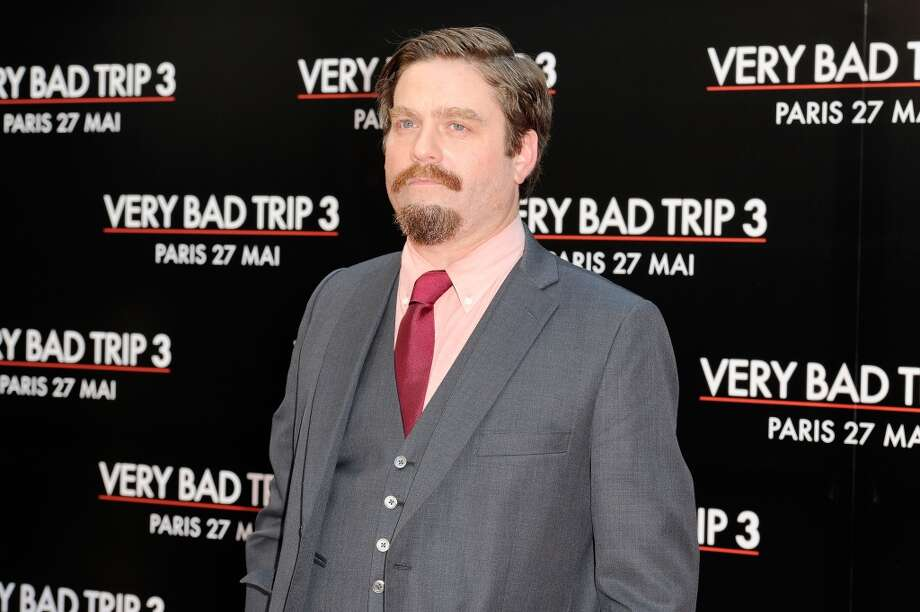 PARIS, FRANCE - MAY 27:  Zach Galifianakis attends the 'Hangover - Very Bad Trip III' ('The Hangover Part III') Paris premiere at Cinema UGC Normandie on May 27, 2013 in Paris, France.  (Photo by Kristy Sparow/WireImage) Photo: Kristy Sparow, WireImage
