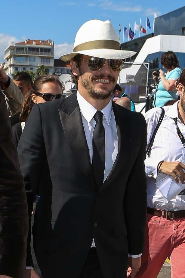 "James Franco's Panama hat/beard combination here is ""Our Man From Havana"". Photo: Marc Piasecki, FilmMagic"