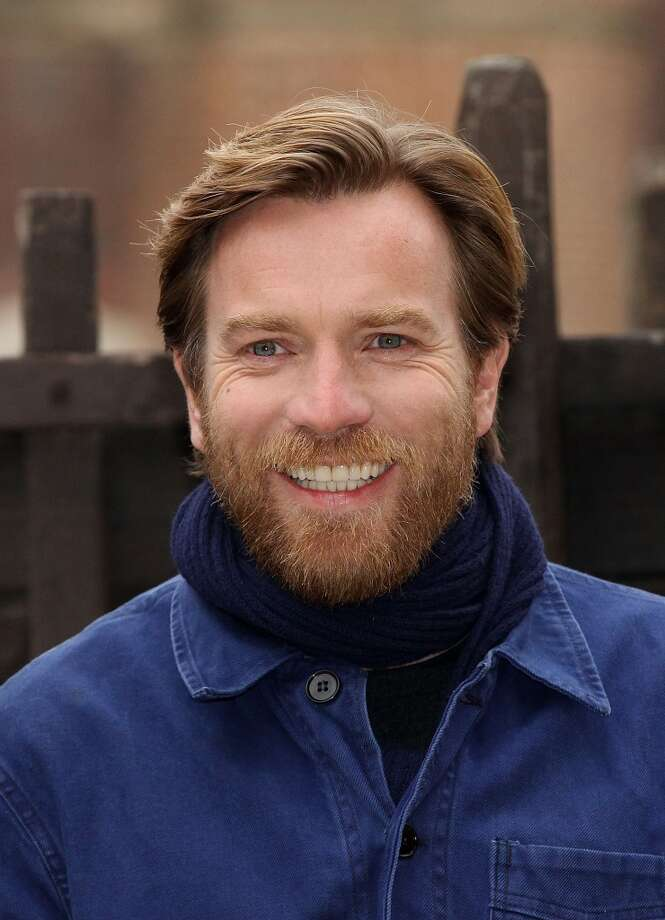 Ewan McGregor frequently experiments with various stages of the shabby cheek: from scruff to beard. Photo: Danny Martindale, WireImage