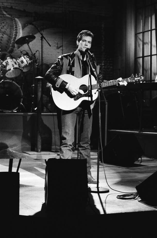 Musical guest Randy Travis performs on February 20, 1988 -- Photo by: Raymond Bonar/NBC/NBCU Photo Bank