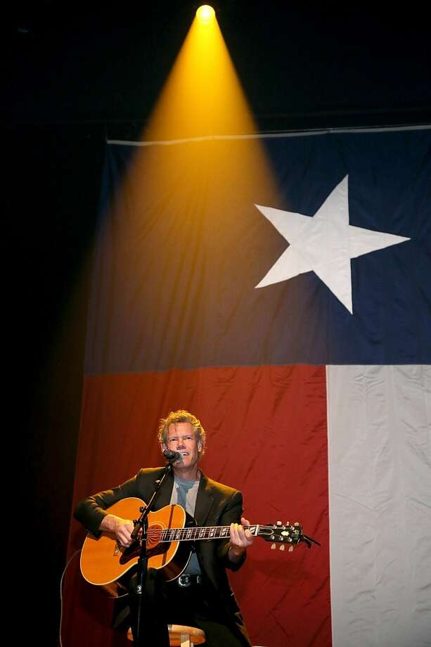Randy Travis performs in concert during the Mack, Jack & McConaughey charity event at ACL Live on April 12, 2013 in Austin, Texas.  (Photo by Gary Miller/FilmMagic)