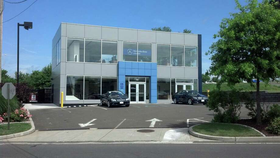 Mercedes-Benz of Fairfield has scheduled a grand opening Saturday, July 13, of this showroom for previously owned vehicles. The showroom and adjacent lot are across the street from the dealership's existing center on Commerce Drive and previously housed the dealership's line of mini Smartcars. Photo: Contributed Photo / Fairfield Citizen