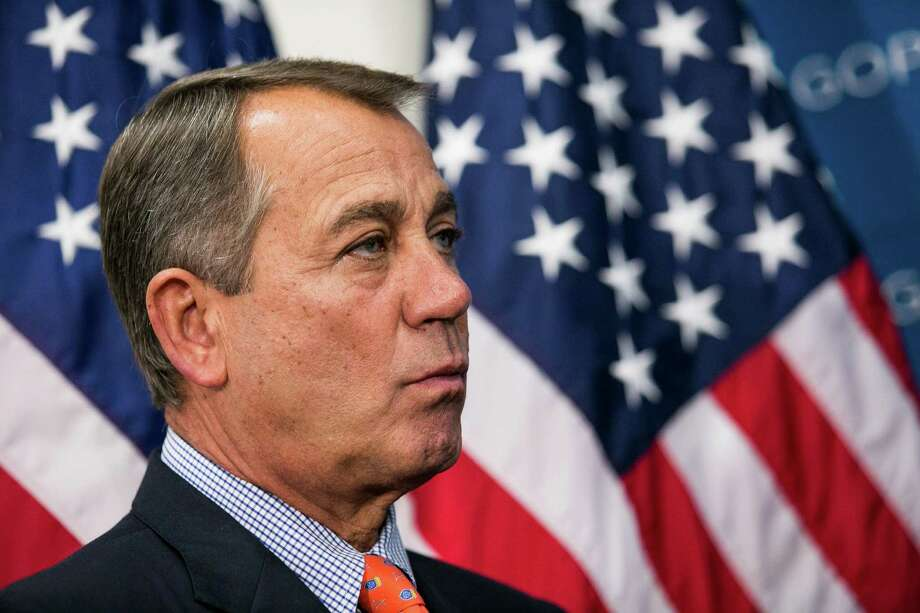 House Speaker John Boehner should lead GOP House members to a compromise with the Senate on immigration reform. Photo: Drew Angerer, Getty Images / 2013 Getty Images