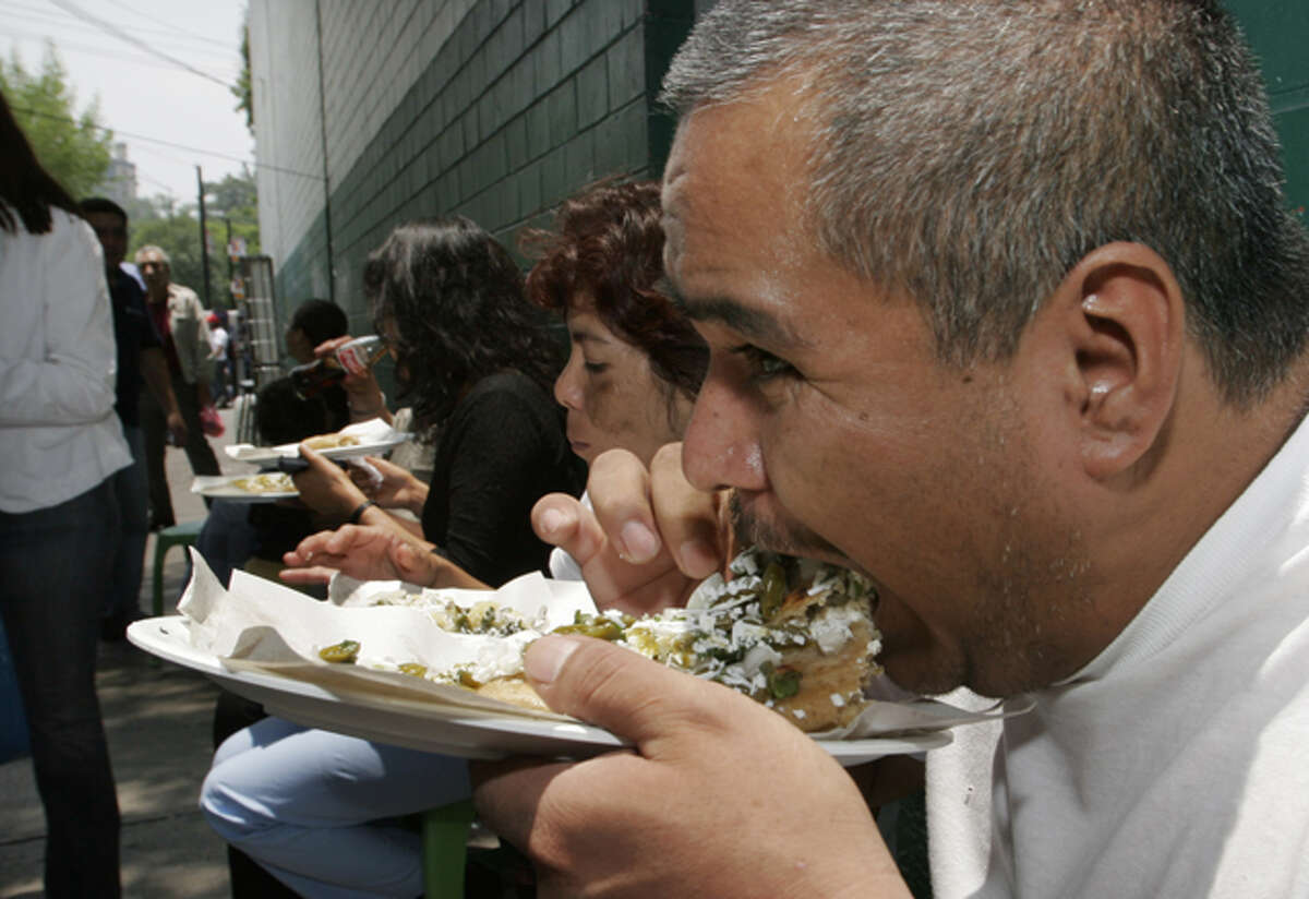 #1 - Mexico: They may be the world's fattest country with a 32.8% obesity rate, but they may also have the world's best food. (Source: United Nations)
