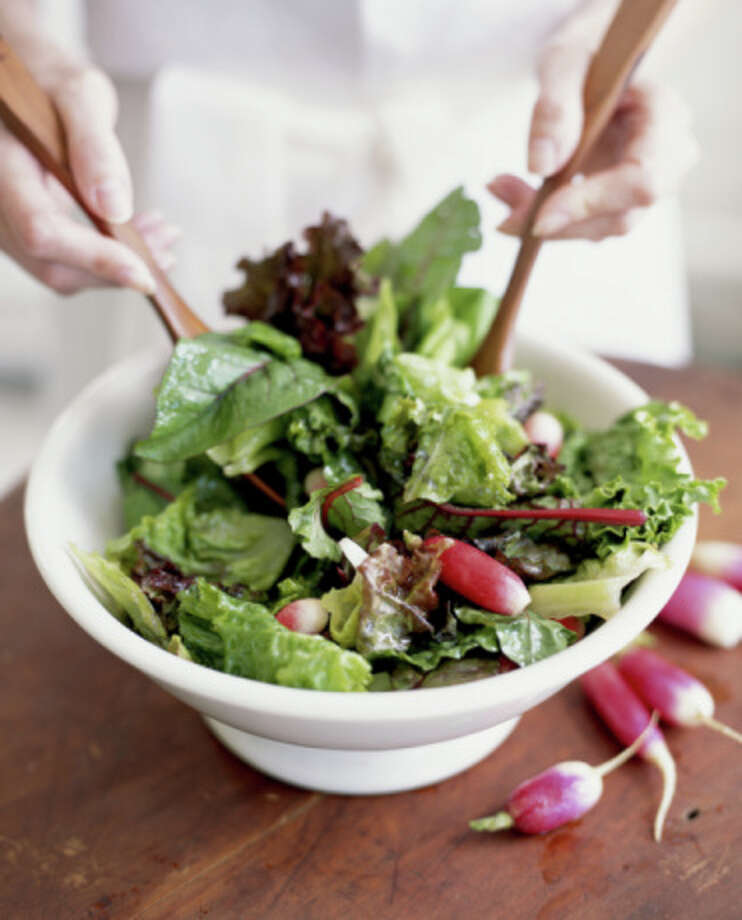 A salad is an obvious choice if you are trying to cut calories. Photo: James Baigrie, Getty Images / (c) James Baigrie