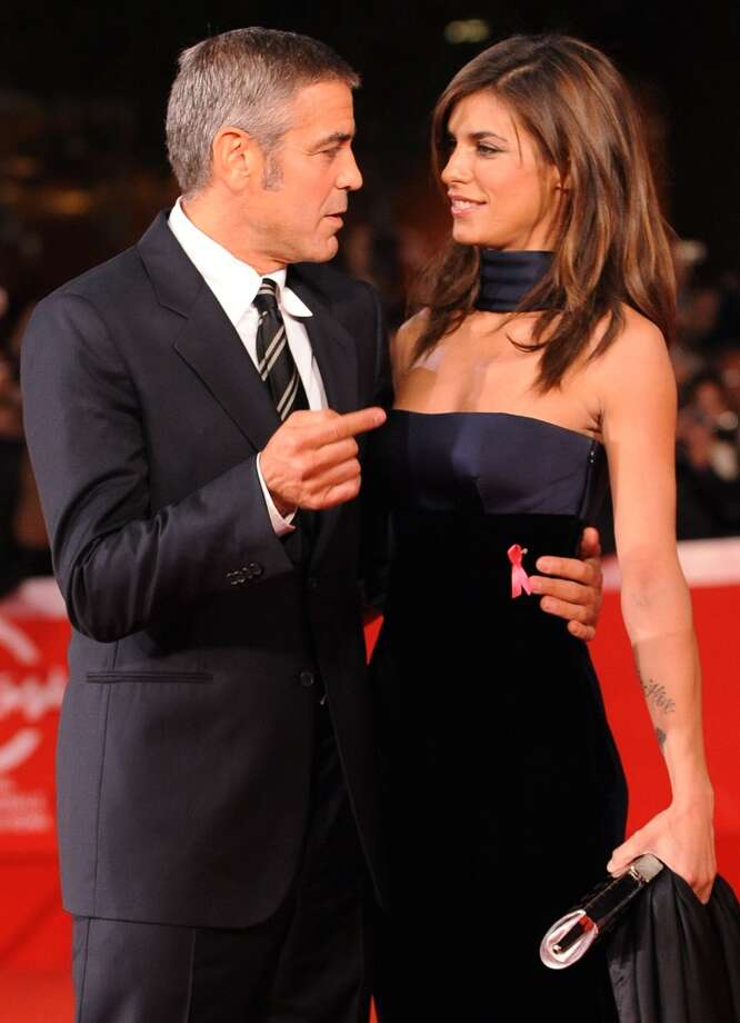 Before Keibler, George Clooney dated Italian model Elisabetta Canalis, pictured in 2009.