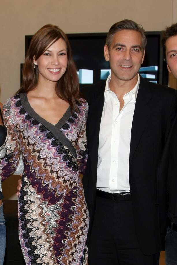 In 2007, George Clooney was with a model named Sarah Larson.