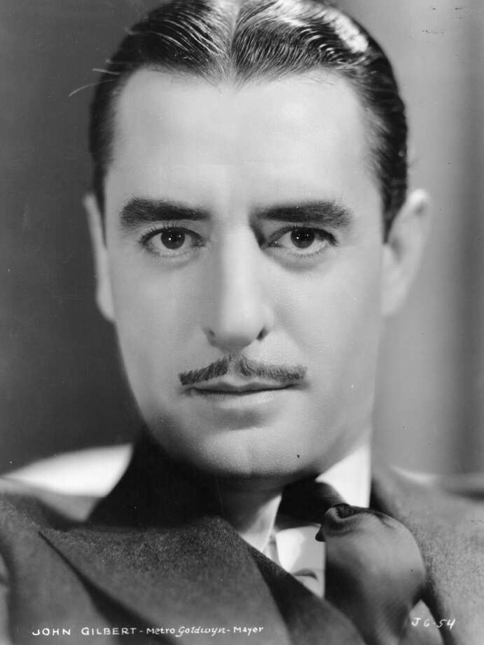 John Gilbert -- known as the great silent star who bombed in the talkies, he was actually better in the TALKIES and made at least two classics in the early sound era. Photo: Hulton Archive, Getty Images