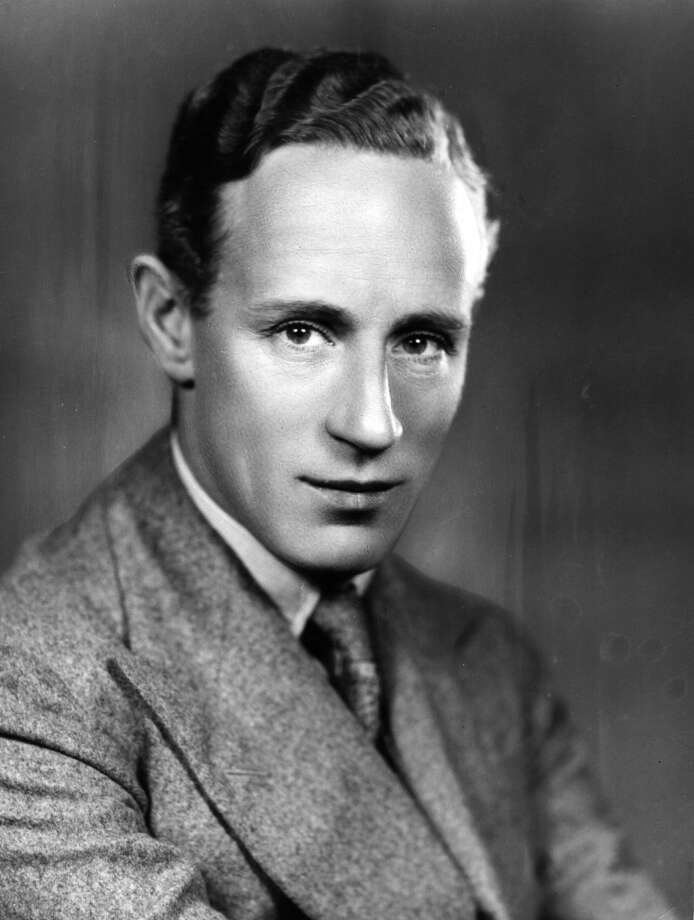Actor Leslie Howard -- remembered for the wrong movie, GONE WITH THE WIND. Terrific as a light romantic star. Photo: Sasha, Getty Images