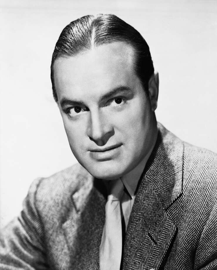 Comedian Bob Hope -- overrated in his life, remembered now for his unfunny standup, but he was a fun comic actor. Photo: NBC, NBC Via Getty Images