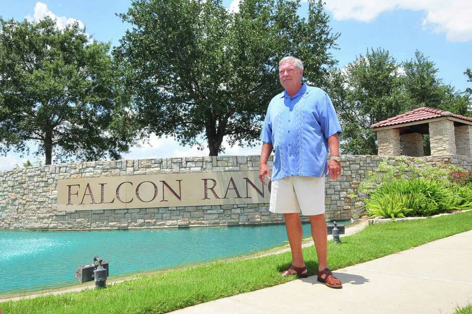 Robert Serrett is president of the Falcon Ranch Homeowners Association.Robert Serrett is president of the Falcon Ranch Homeowners Association. Photo: Â Tony Bullard 2013, Freelance Photographer / © Tony Bullard & the Houston Chronicle