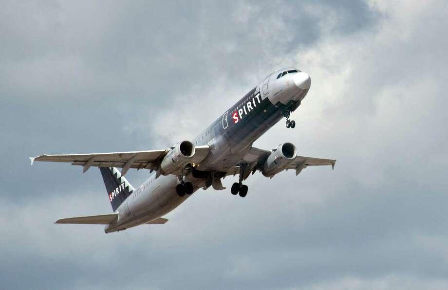 No. 6.Spirit Airlines(U.S.): Score of 64.2. Photo: KAREN BLEIER, AFP/Getty Images / 2013 AFP