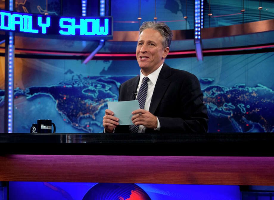 #24 - Jon Stewart's George W. Bush impression, The Daily Show: Because it proves that the only thing harder than being leader of the free world is for a guy from New Jersey to pull off a convincing Texas accent. Photo: Carolyn Kaster