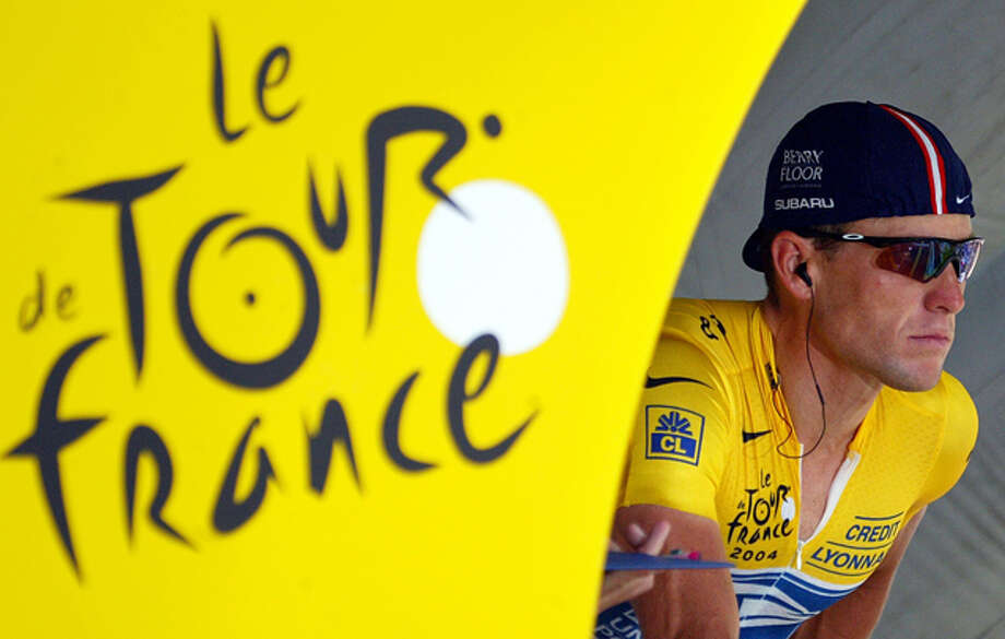#12 - Lance Armstrong, Tour de France: Because despite everything else, he made people riding bikes in France actually worth watching for seven summers. Photo: JOEL SAGET