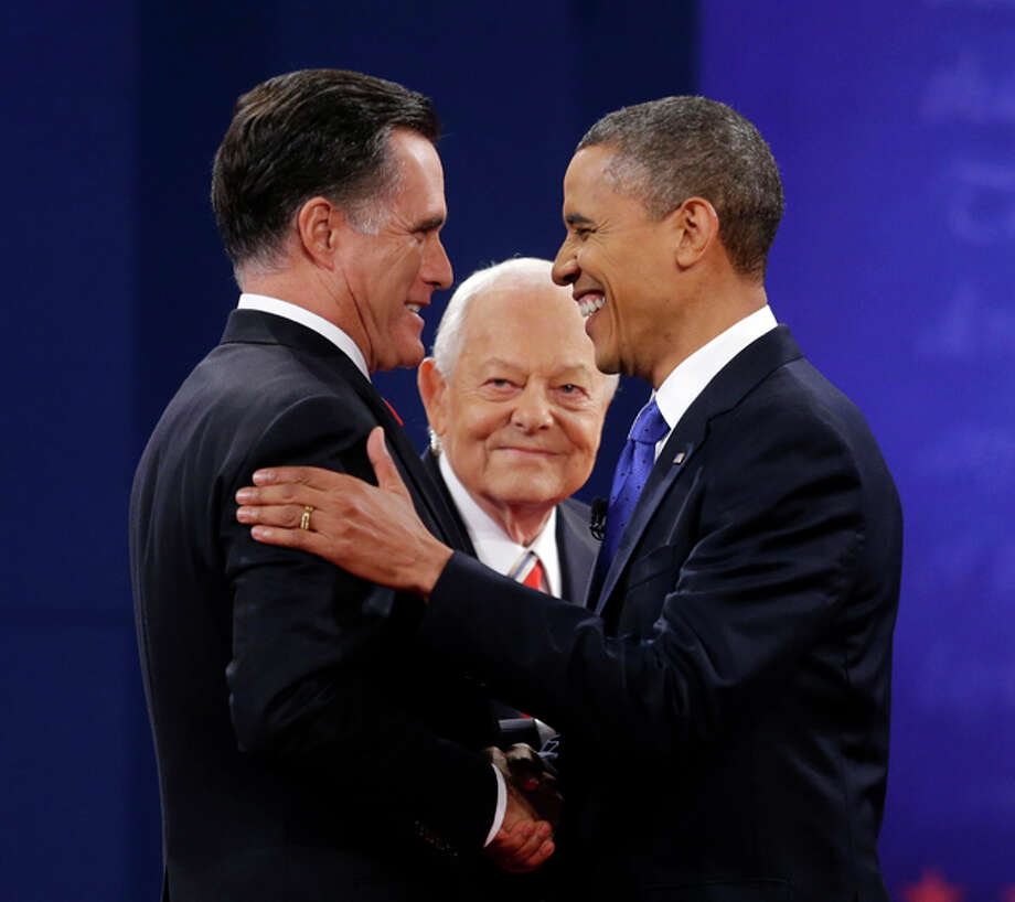 #9 - Bob Schieffer:Because when the most powerful country in the history of the world is trying to figure out who it wants to lead it, it's this Texan you want asking the tough questions. Photo: Pablo Martinez Monsivais