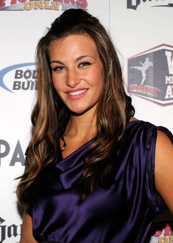 Mixed martial artist Miesha Tate arrives at the third annual Fighters Only World Mixed Martial Arts Awards 2010 at the Palms Casino Resort Dec. 1, 2010, in Las Vegas.