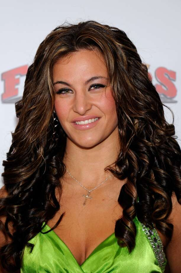 Mixed martial artist Miesha Tate arrives at the Fighters Only World Mixed Martial Arts Awards 2011 at the Palms Casino Resort Nov. 30, 2011, in Las Vegas.
