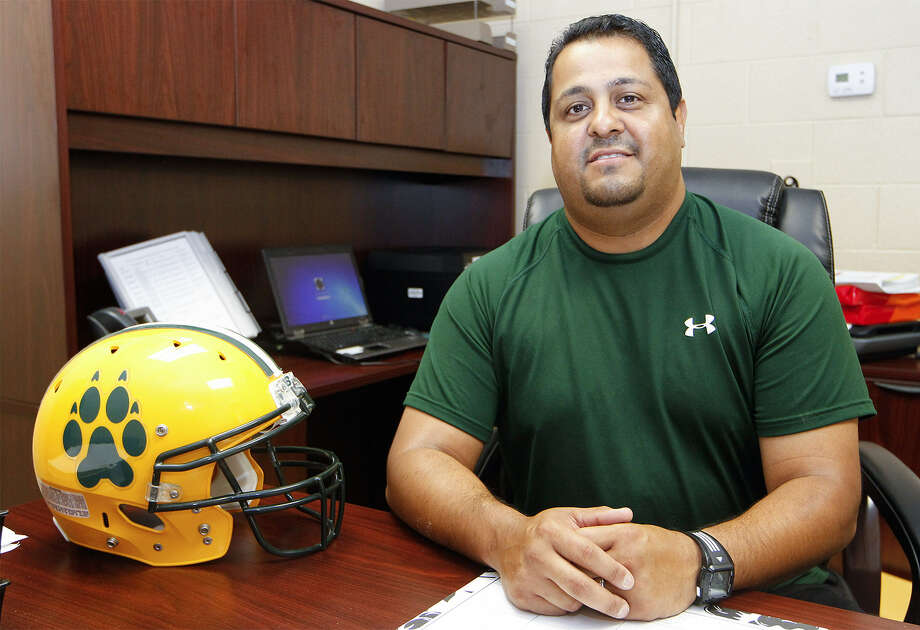 Eddie Salas, the new head football coach at Holmes High School, will scrimmage against his alma mater, Jefferson High School, in the upcoming season. Photo: Marvin Pfeiffer / Northwest Weekly