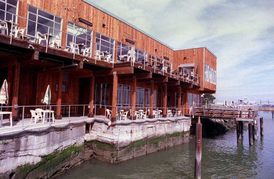 Pre-Osborne era Kelly's Mission Rock restaurant as seen from the bay side.
