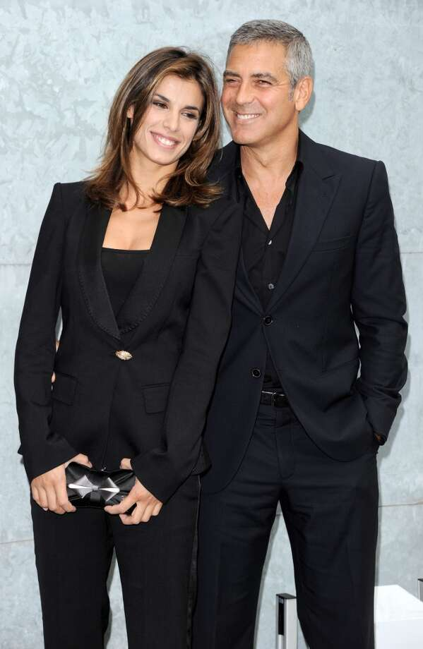 Elisabetta Canalis and George Clooney: 2009-2011. Photo: Venturelli, WireImage