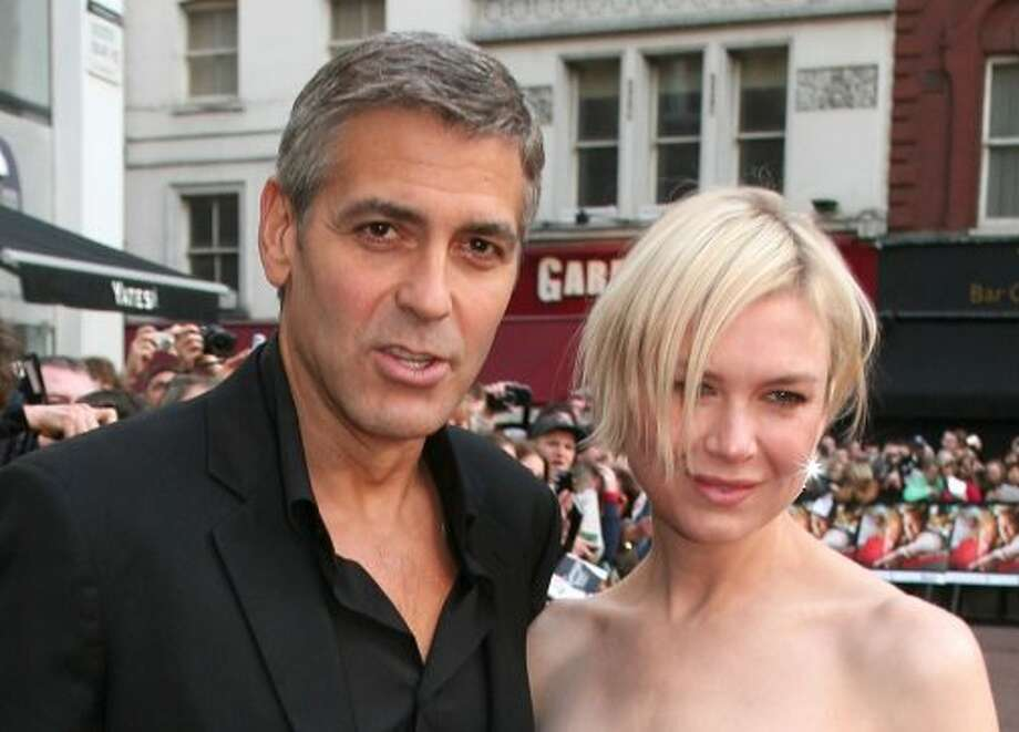 George Clooney and Renee Zellweger: Rumored to have dated in 2001. Photo: Jon Furniss, WireImage