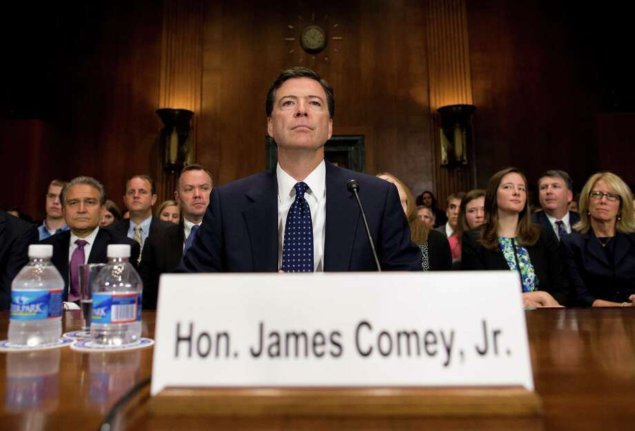 Democrats and civil liberty groups question James Comey's nomination as FBI director. Photo: Evan Vucci, STF / AP