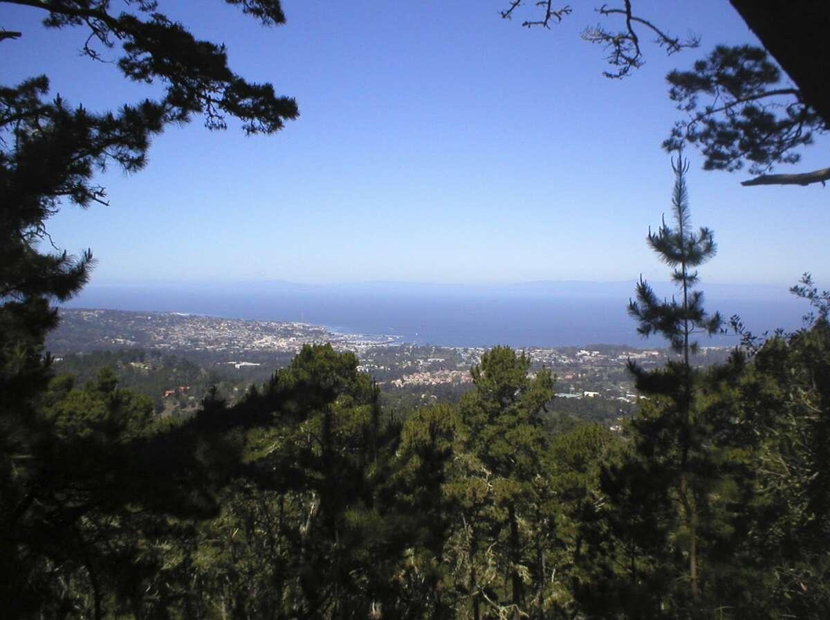 Jack's Peak County Park in Monterey County.