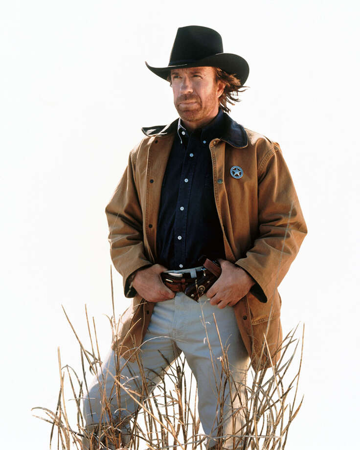 #7 - Cordell Walker, Walker,  Texas Ranger: Because who needs a Batman looking out for your city when you've got a Ranger.