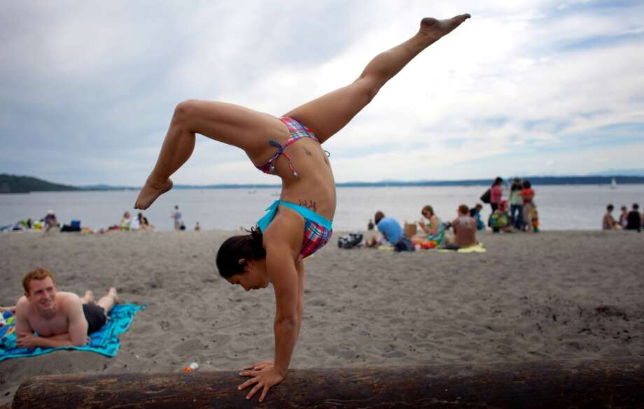 Golden Gardens: Sand, bonfires, picnics and hikes. The only downside to this Ballard beach is that everyone else loves it too. 