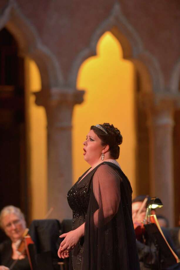 Angela Meade sings the role of H l ne in Verdi's  Les v pres sicilienne  at the Caramoor Summer Music Festival. Photo: Gabe Palacio, Contributed Photo / Greenwich Time contributed