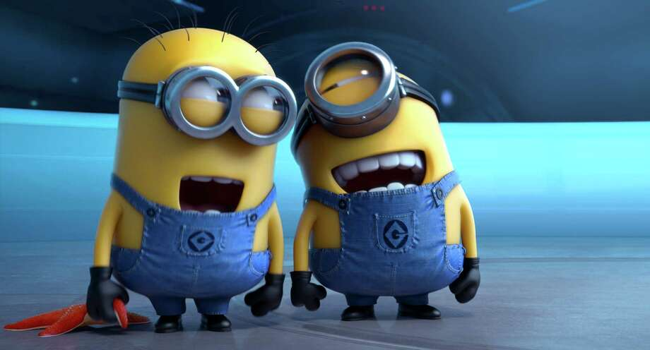 "Minions please: About 31 percent of respondents said their costumes will be inspired by cartoons like ""Monsters University"" and ""Despicable Me."" Photo: Uncredited, HOEP -end- / Universal Pictures"