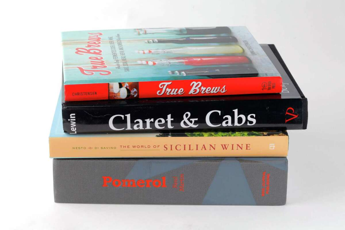 Wine books as seen in San Francisco, California, on June 12, 2013.