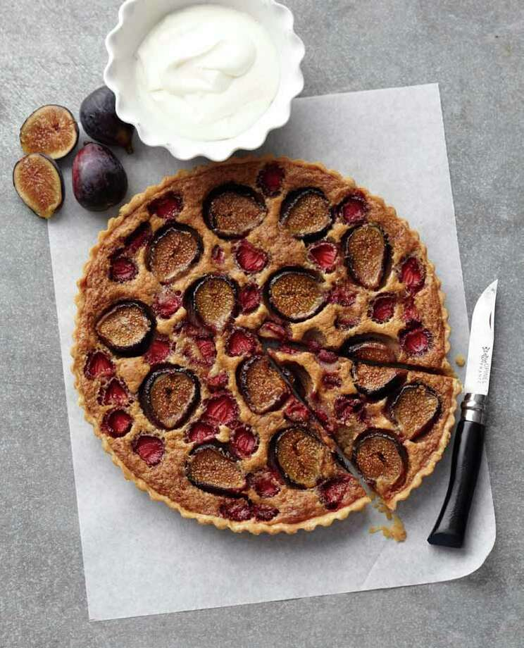 "Strawberry and Fresh Fig Tart from ""Martha Stewart's New Pies and Tarts,"" by Martha Stewart (Clarkson Potter). Photo: Clarkson Potter"