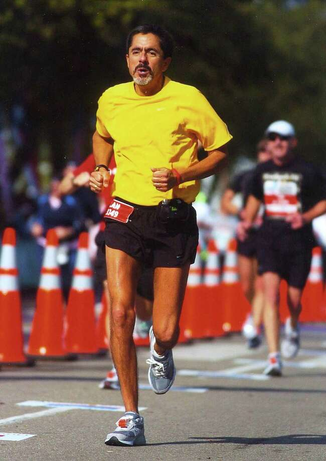 Beaumont City Councilman Alan Coleman runs in a marathon in Austin recently. photo provided by Alan Coleman
